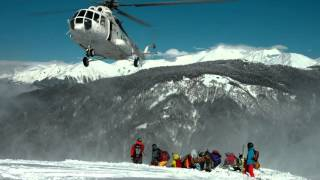 Heliski Mountain Helicopters, Sochi-Heliski, Baza560 and Action Brothers